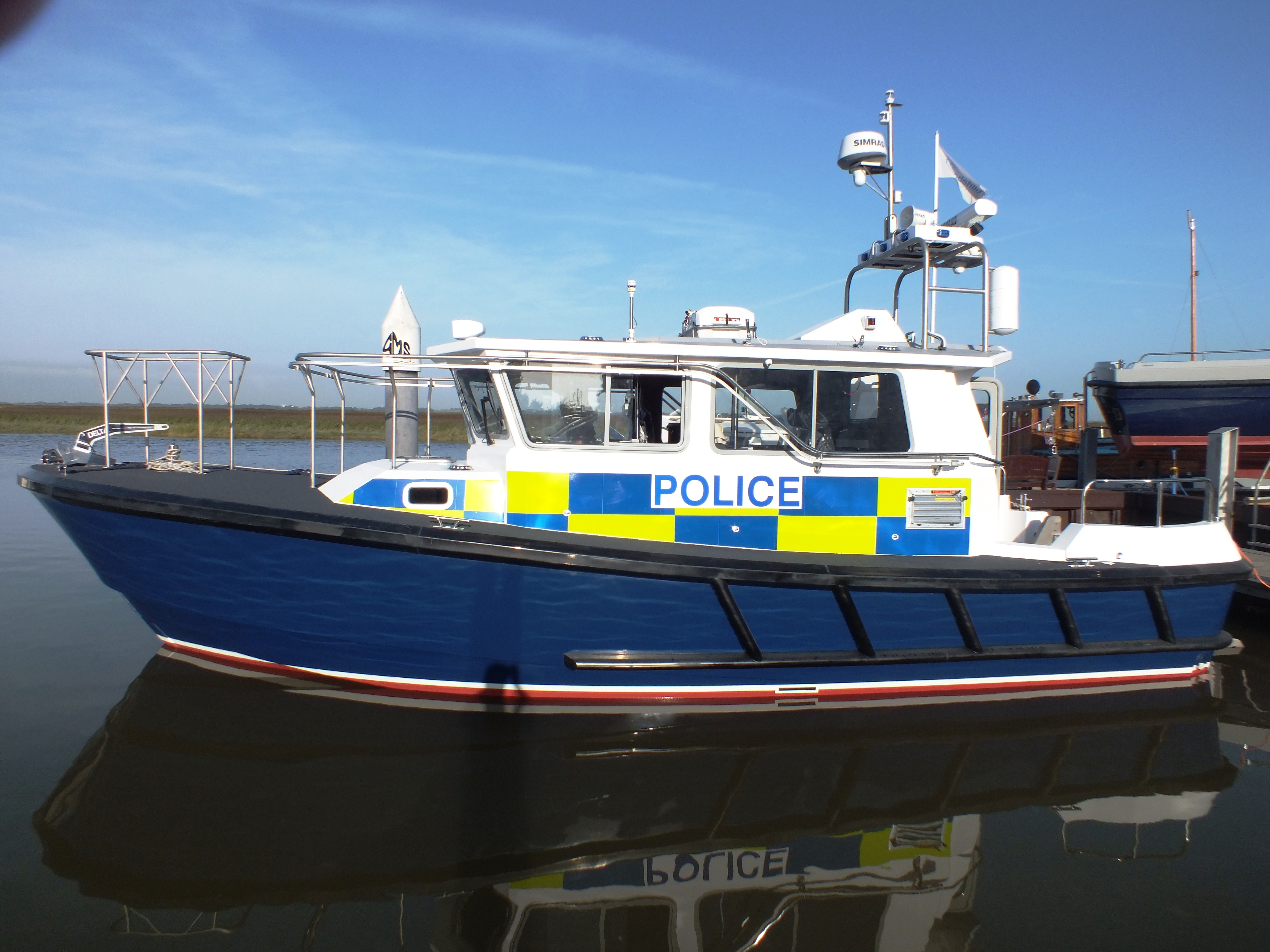 lochin 367 - Police Launch, Hampshire Police