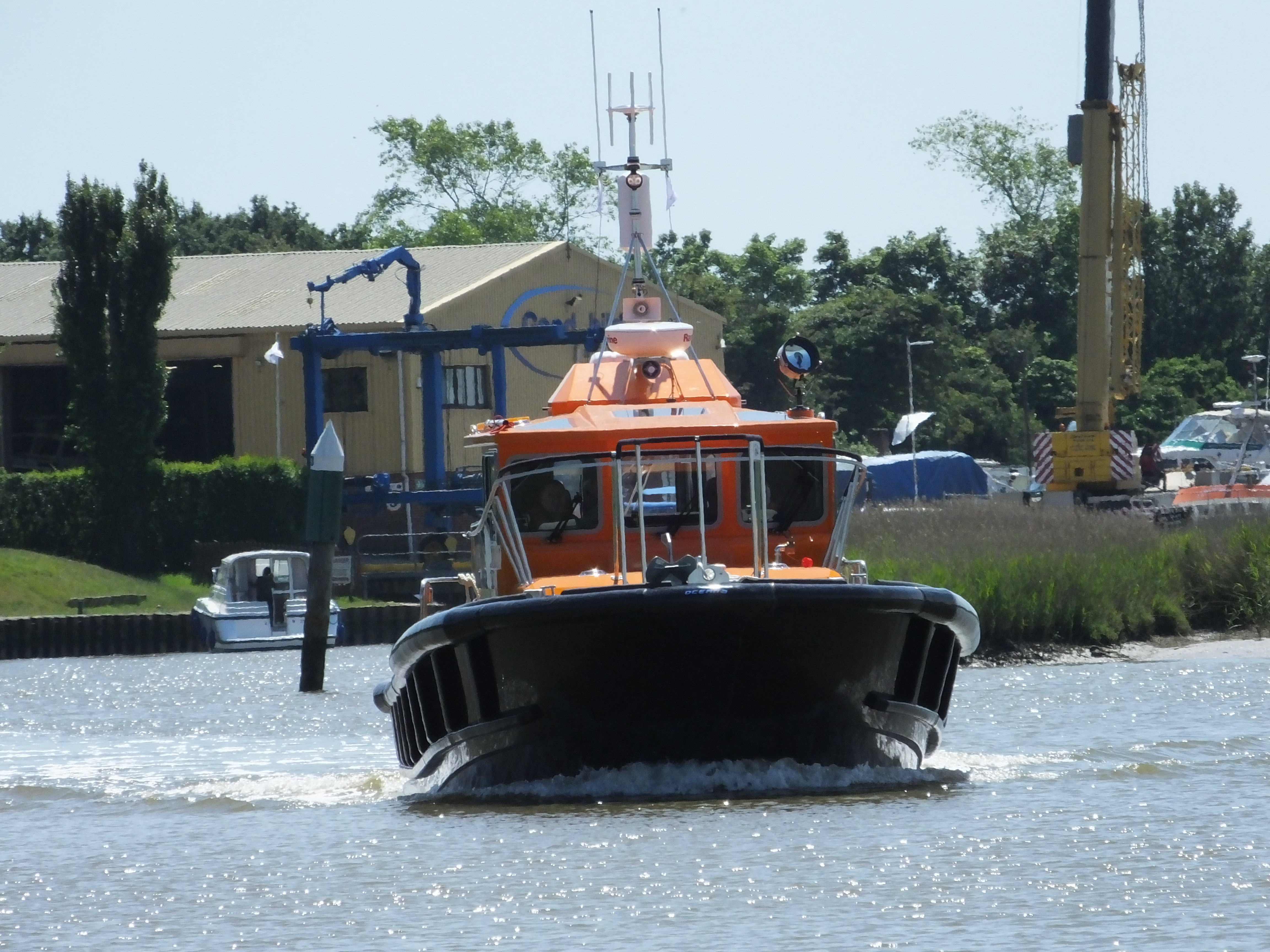 Pilot boat, Shoreham Harbour